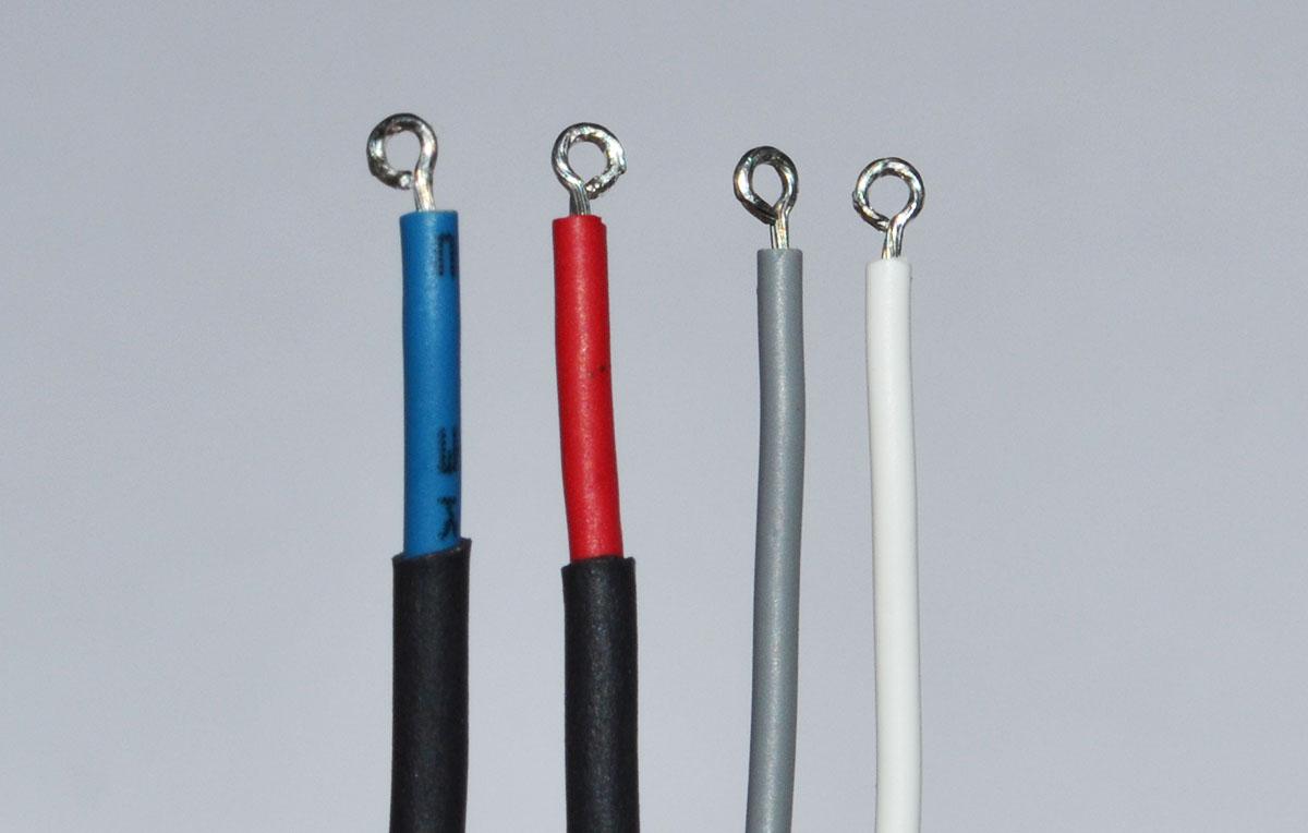 Резинки для CCFL ламп с проводами (9мм) вид 3
