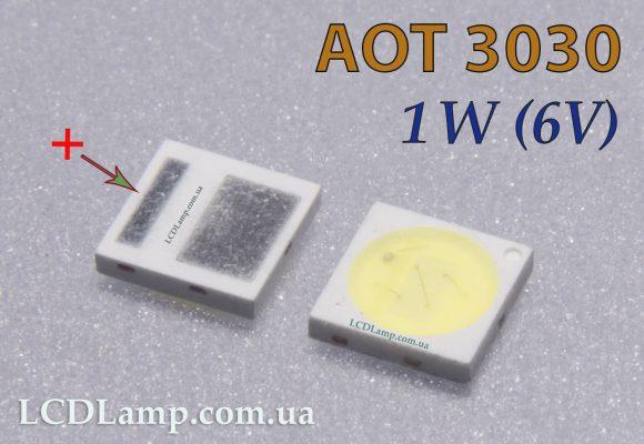 AOT 3030 1W-6V