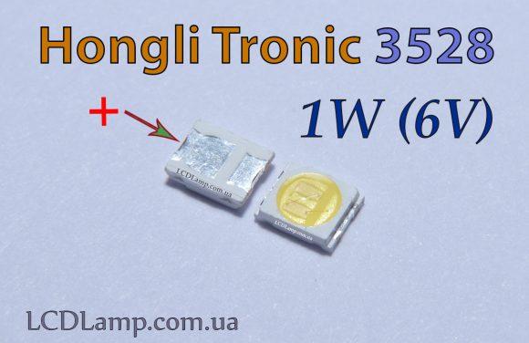 Светодиод телевизора Hongli Tronic 3528