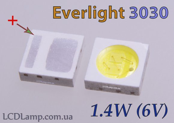 Everlight 3030 (1.4W.-6V.)