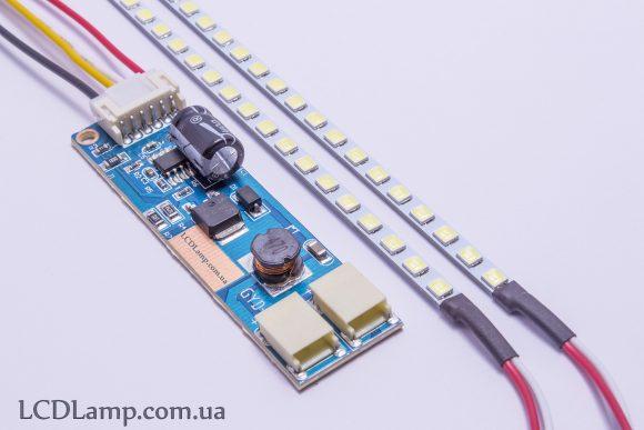 LED подсветка в монитор (холодного свечения)