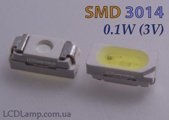 SMD 3014 (0.1W 3V)