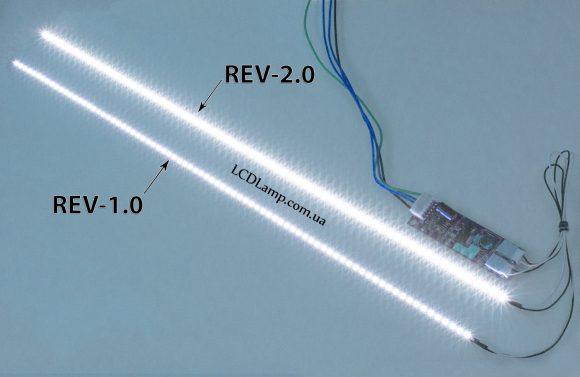 LED подсветка ноутбука Rev-2.0(2017) сравнение №2