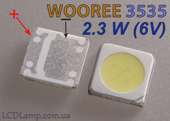 WOOREE 3535 (2.3W 6V)