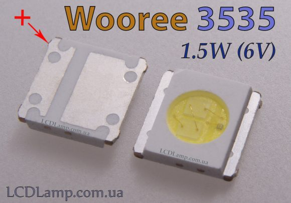wooree 3535 (1.5W 6V)